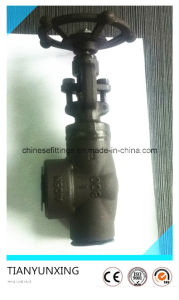 800lbs Forged Carbon Steel Right Angle Globe Valve pictures & photos