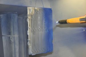 in Stock Powder Coating Spray Booth pictures & photos