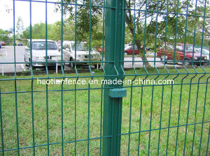 Ral 6005 Green Powder Coated Europe Style Fence Panel pictures & photos