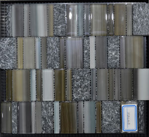 2016 Popular Building Material of Glass Mosaic (MBS008)