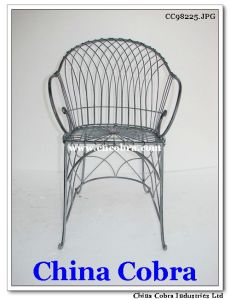 Metal Coffee Chair Office Chair (CC98225)