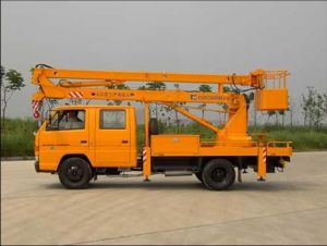 Hot Selling HOWO Boom Truck High Platform Truck 10-20m pictures & photos