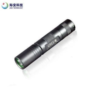 Hot! 18650 Rechargeable Q5 5W LED Flashlight pictures & photos