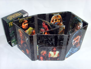 DVD in Plastic Tray with Slipcase Packaging Service pictures & photos