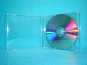 CD Case CD Box CD Cover Plastic CD Case Plastic CD Box 10.4mm Single with Transparent Tray