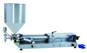 Semi-Automatic Pneumatic Cream Filling Machine (GH-GG50) pictures & photos