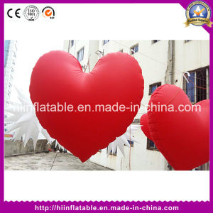 Hot Wedding Valentine Event Decoration Inflatable Red Heart pictures & photos