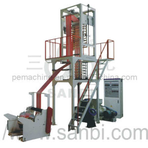 Double Color Striped Film Blowing Machine (CE) pictures & photos