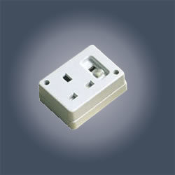 13a 3 Pin Switched Socket With Shutter