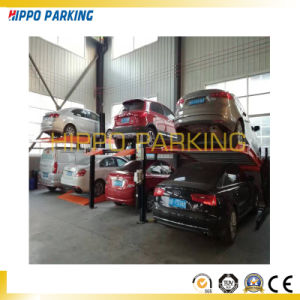 Hydraulic 2700kg Four Post Car Parking Lifts for Garage pictures & photos