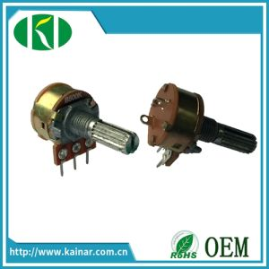 16mm Fan Speed Controller Potentiometer with Switch Wh160ak-2 pictures & photos