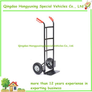200kg Heavy Duty Truck Hand Trolley Carrier with Black Color