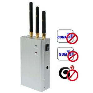 High Power Portable Cell Phone Blocker Signal Jamer (SJ112) pictures & photos