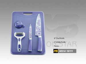 Cutting Board Series Kitchen Knife (MS14-16111) pictures & photos