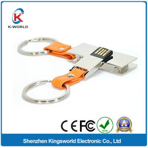 8GB Leather USB Flash Disk pictures & photos