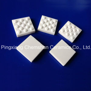Alumina Ceramic Pulley Lagging Tile From Abrasion Resistant Ceramics Lining Provider pictures & photos