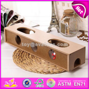 Best Sale Small Animal Playground Wooden Interactive Pet Toys W06f044 pictures & photos