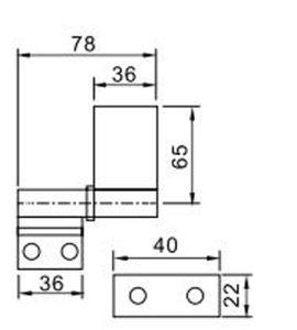 Best Elegant Hinge Hl6011 for Aluminum Door & Window pictures & photos
