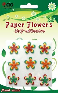 Paper Flower Sticker (FX-10)