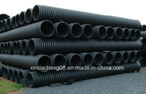 Large Caliber PE Winding Structural Wall Pipe Production Line pictures & photos