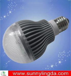 LED Bulb with Lower Power Consumption and 5W Power Consumption