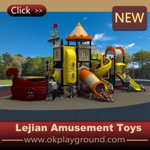 Ce Durable Kids Best Choice Playground Slide Equipment (X1510-3) pictures & photos