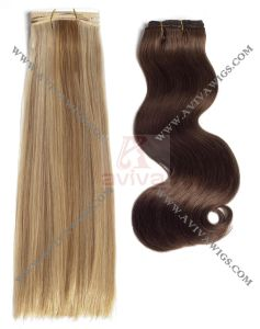 100% Virgin Remy Human Hair Extensions pictures & photos