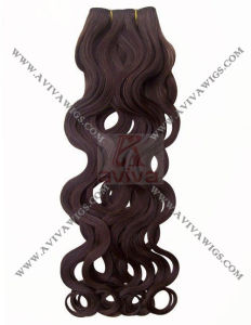 100% Human Hair Extension with Italian Curl pictures & photos