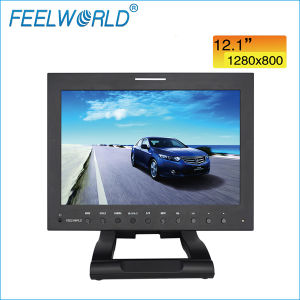 "12.1"" 16: 9 Professional Broadcast Monitor with 3G-Sdi, HDMI, YPbPr, AV"