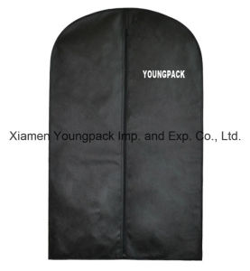 Custom Printed Black Non-Woven Travel Suit Bag pictures & photos