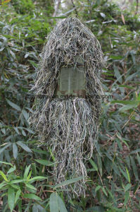 Durable Forest Product Mesh Lining 3D Camo Ghillie Suit pictures & photos