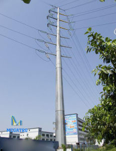 33kv Steel Pole for Overhead Transmission Line (MGP-33KV) pictures & photos