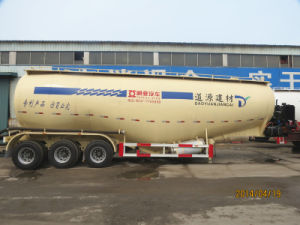 Bulk Cement Tanker Semi Trailer Concrete Powder Tank Trailer pictures & photos