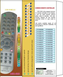 High Quality Universal Remote Control (URC-2) pictures & photos
