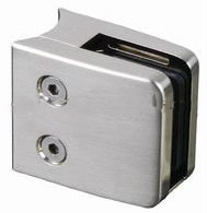 Stainless Steel Square Glass Clamp (FR-HR-GCS002)