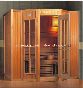 5-6P Tranditional Finish Sauna (NYS-2017)