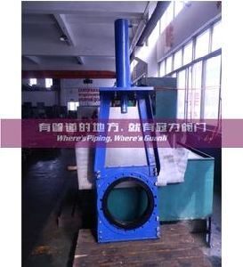 Heavy Duty Clarkson Type Kgd Slurry Knife Gate Valve pictures & photos