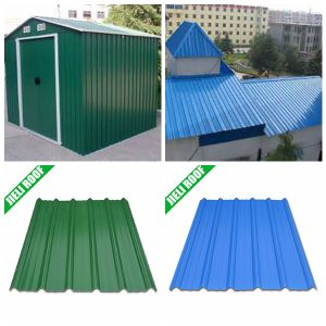 China PMMA Coated Arch Roofing Sheet pictures & photos