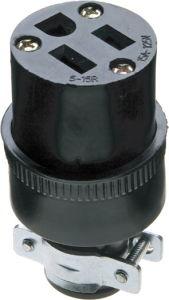 15 AMP, 125 Volt, NEMA 5-15r, Wire Connector pictures & photos