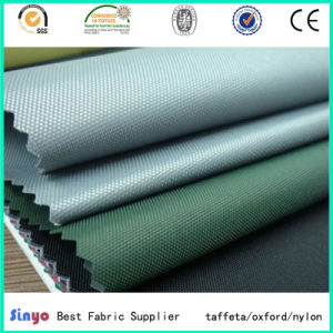 PVC Laminated 100% Polyester Oxford 420d Panda Fabric pictures & photos