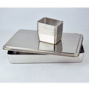 Stainless Steel Seasoning Box Spice Jar Series (JX-033) pictures & photos