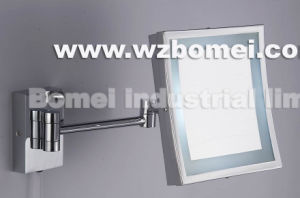 Flg Square Wall Mounted Cosmetic Mirror with LED Light pictures & photos
