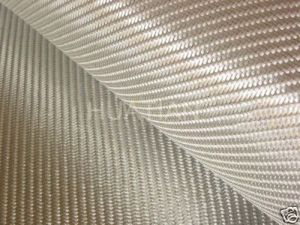 Silver Fiberglass Cloth/Fabric