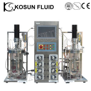 20L 30L 50L Stainless Steel and Glass Industrial Fermentor Bioreactor pictures & photos