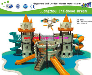 Fully Plastic Castle Outdoor Children Playground for Sale (HC-8101) pictures & photos