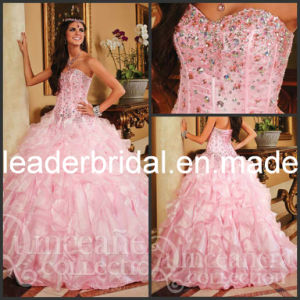 Pink Quinceanera Dresses Sweetheart Ball Gown 2017 P26760 pictures & photos