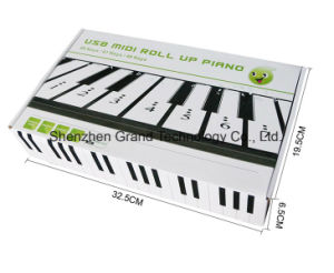 Soft Keyboard Hand Roll Piano with 61 Keys pictures & photos