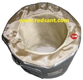 Fireproof Thermal Insulation Blanket for Heaters, Boilers, Valves & Pipes pictures & photos
