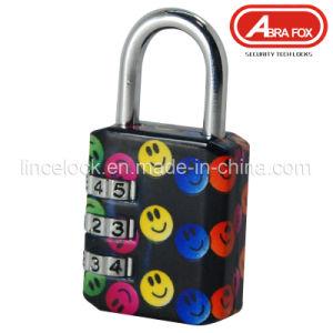 Zinc Alloy Colour Heat Plated Design Combination Padlock (801-6) pictures & photos