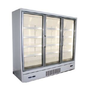 Vertical Glass Door Freezer and Chiller pictures & photos